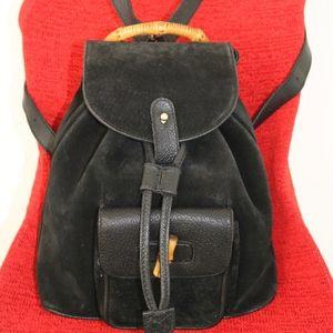GUCCI Bk sure Vintage backpack Handbag made ITALY
